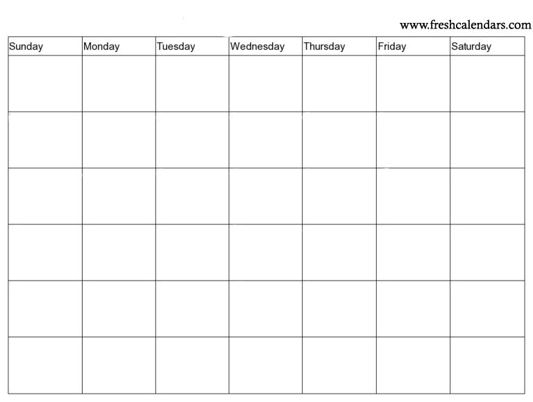 Blank Calendar Wonderfully Printable 2019 Templates