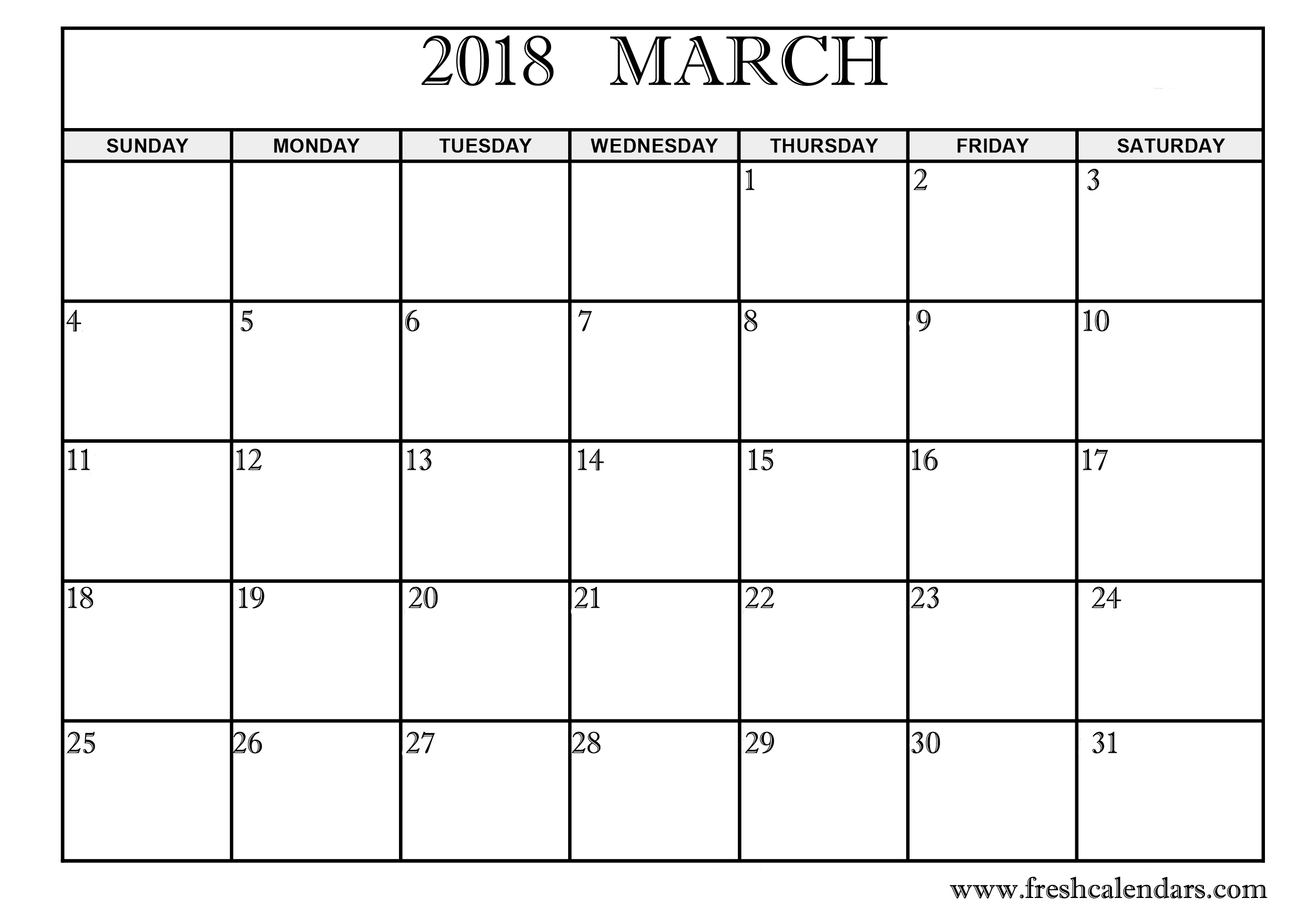 Basic Template of Mar 2018 Download