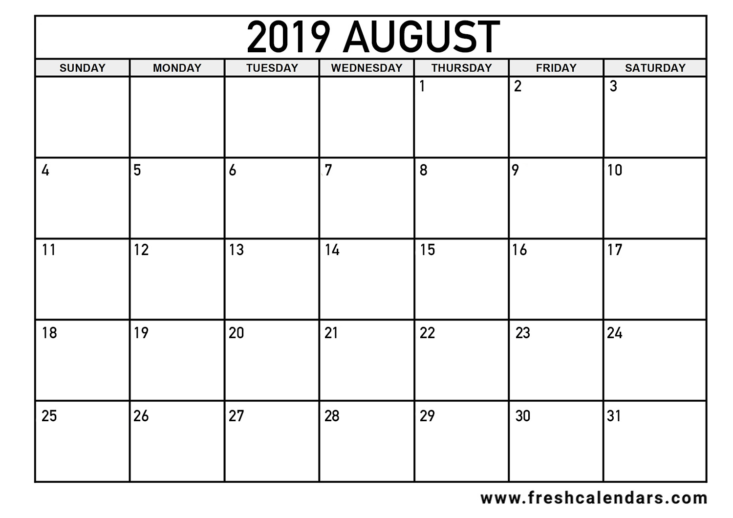 It's just an image of Exceptional August Printable Calendars