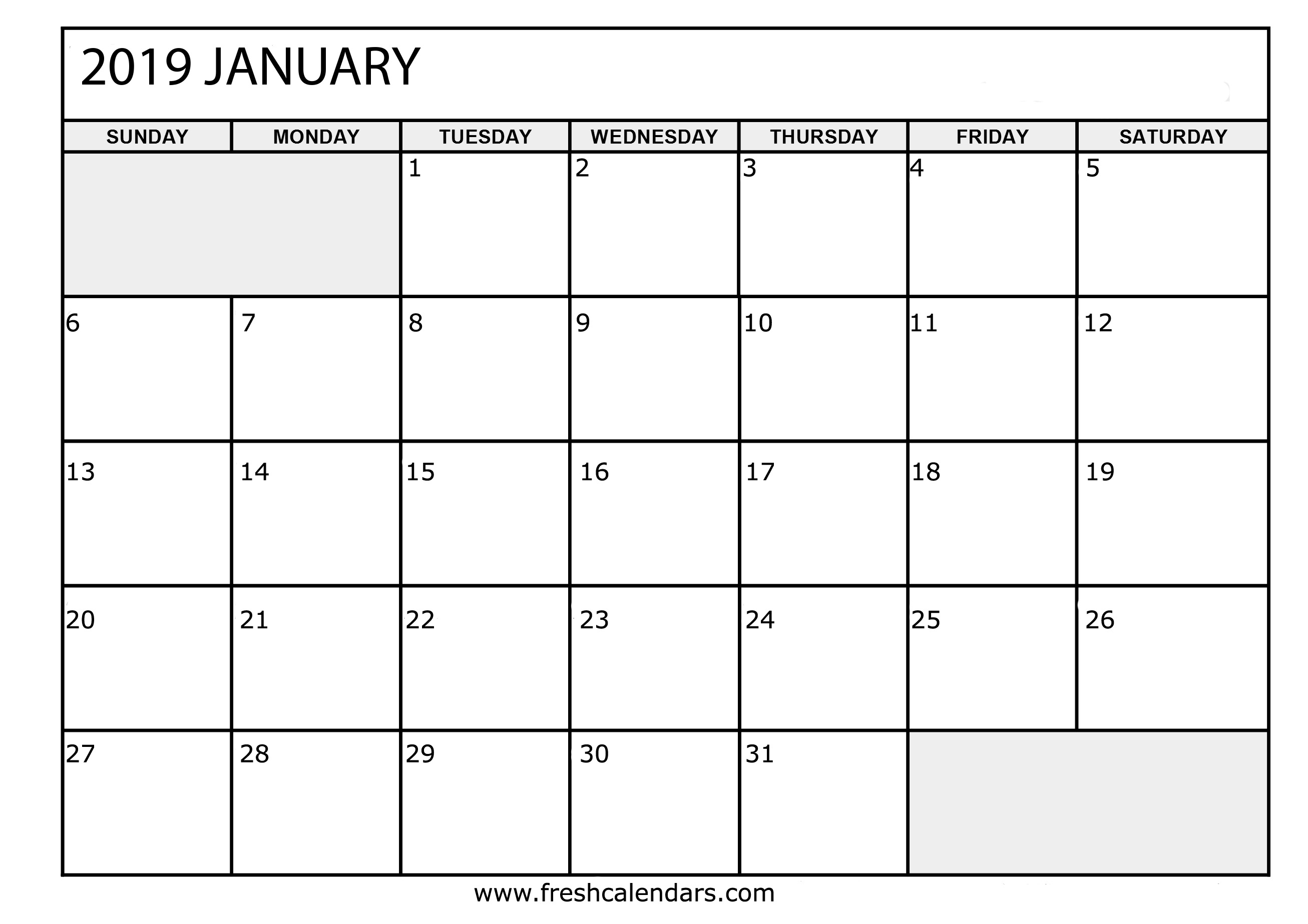 This is a photo of Ridiculous January Printable Calendars