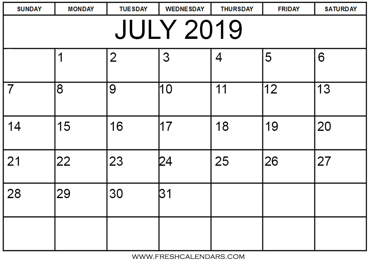 Yearly Calendar September 2019 To August 2019
