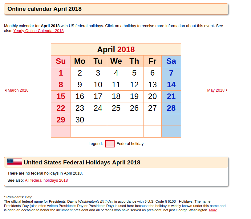 Word. PDF. Excel April 2019 Calendar Templates
